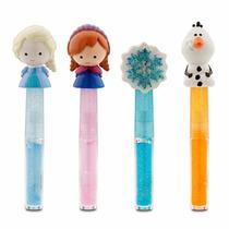 Gloss Disney Frozen Importado Disney Store - Kit Com 4 Gloss