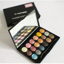 Paleta Sombra Olho Mac Eye Shadow 18 Cores Edicao Limitada!