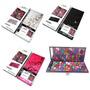Kit 100 Sombras 3d Estojo Maquiagem Completo Jasmyne Cr9556