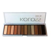 Paleta De Sombras Koloss Luxurius - Modelo N°1 (12 Cores) -