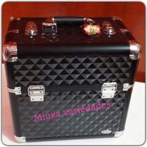 Maleta P/cosméticos Esp.interno P/chapinha/secador Ref.1182