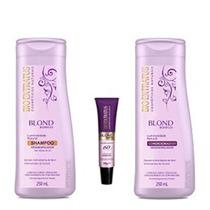 Kit Bio Extratus Desamarelador Shampoo+condicionador+ampola