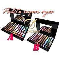 Paleta Super Eyes Luisance - 88 Cores De Sombras