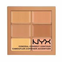 Nyx Paleta Profissional Conceal Correct Contour 3cp02 Medium