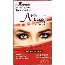 Kit Profissional De Henna Sobrancelha Niraj Indian - Loiro