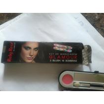 Kit De Maquiagem 2 Blush.16 Sombras Glmour
