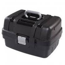 Maleta Mega Bag Preta Com Divisórias P/ Manicure E Maquiagem
