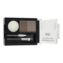 Nyx Eyebrow Cake Powder Kit Duo Sobrancelha Taupe Ash Ecp03