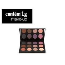 Estojo Sombras Paleta Color Me 12 Cores Maquiagem Contem 1 G