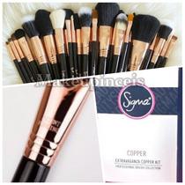 Extravaganza Sigma Copper Kit29 Pincéis- P.ent. Frete Gratis