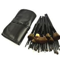 Kit Com 32 Pincéis Maquiagem Profissional Pronta Entrega