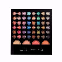 Paleta Sombras Studio 1 Vult Make Up -kit Maquiagem 48 Cores