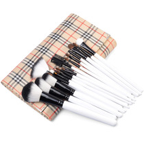20pcs Pro Eyeshadow Blush Maquiagem Cosmetic Brushes Kit Lat