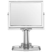 Espelho De Mesa Para Maquiagem Em Acrílico Dupla Face