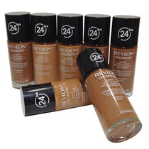 Base Revlon Colorstay 24 Hrs Tons Para Pele Negra Original