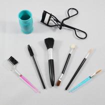 Mini Kit De Maquiagem Para Olhos E Rosto