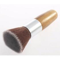 Pincel Duo Fiber Para Maquiagem Profissional Cedas Naturais