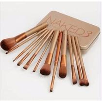 Kit Maquiagem 12 Pinceis Naked3 Importado A Pronta Entrega