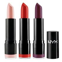 Batom Nyx Cremoso Round Lipstick 100% Original Roxo Importad
