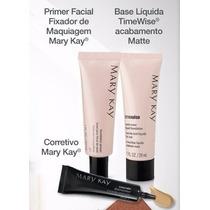 Mary Kay Kit Base Matte Beige 4 + Primer + Corretivo Yellow