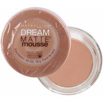 Dream Mousse Matte Base Maybelline Honey Biege Médio 04