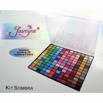 Kit De Maquiagem 120 Sombras 3d Jasmyne /macrilan