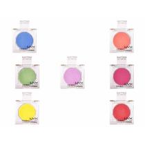 Kit Com 7 Pó Facial Nyx Primal Colors