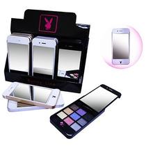 Paleta Estojo De Sombras Playboy Modelo Celular Iphone 6 Und