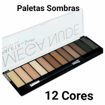 Kit Esponja Facial De Maquiagem Para Base+paleta De Sombra