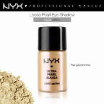 Sombra Pigmento Ultra Pearl Mania Nude Nyx