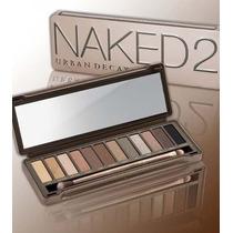 Paleta Sombra Naked 2 Com 12 Cores + Pincel - Pronta Envio