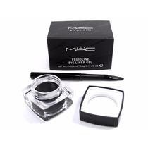 Delineador Mac Gel Maquiagem Fluidline Eye Liner Com Pincel