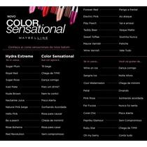 Batom Maybelline Color Sensational - Nova Linha Mundial !!!