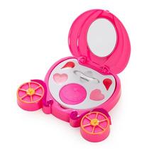 Estojo Maquiagem Infantil Princesas Disney Carruagem