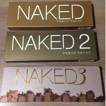 Kit Paleta Urban Decay Naked 1, Naked 2 E Naked 3 - Original