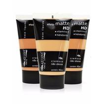 Atacado Base Liquida Matte Maxlove Facial Longa Duração 12un