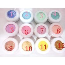Kit 6 Pigmentos / Sombra Solta / Glitter