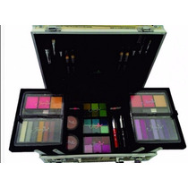 Maleta Kit Maquiagem Jasmyne Profissional 58 Itens + Brinde