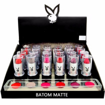 Batom Luxo Matte Fosco Da Playboy Original Kit C/6 Un