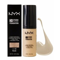 Base Líquida Hd Foundation Nyx - Natural Beige Hdf 06