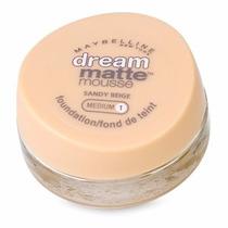 Base Maybelline Dream Matte Mousse - Medium 1 Sandy Beige