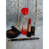 Kit Maquiagem Natura Una + Perfume Kriska