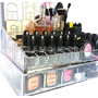 Porta Maquiagem Em Acrílico - Organizador Grande Com Gaveta