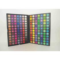 Kit Sombras Paleta Com 168 Cores - Matte E Cintilante