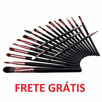 Kit De Pincel 20 Pcs Maquiagem Make Up Kit Frete Gratis