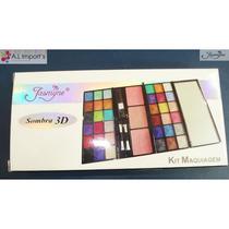 Kit De Maquiagem Sombra 3d V253 Jasmyne 36 Sombras 3 Blushes