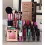 Porta Maquiagem 12 Batons Pincel Organizador Acrílico