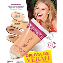 Base Líquida Avon Colortrend 30ml Fps 15 Cores Variadas