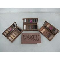 Kit Naked Basics Urban Decay. 3 Paletas+brinde. P. Entrega.