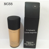 Base Mac Studio Fix Fluid Nc35 Spf 15 Original P. Entrega